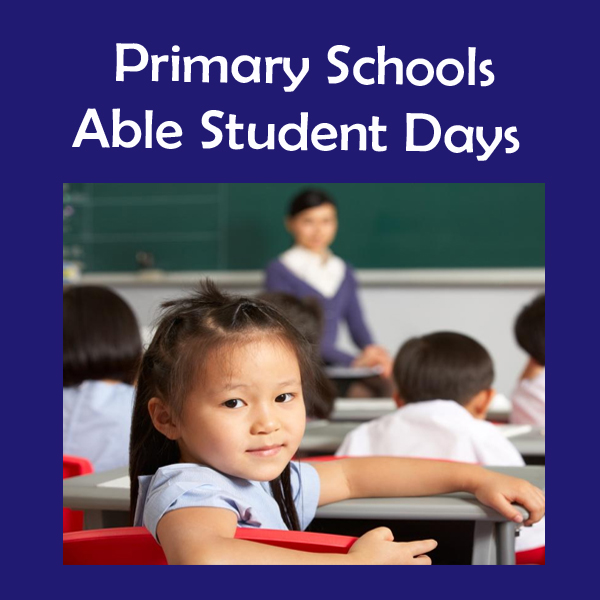 Link to Primary Schools Able Student Days Page